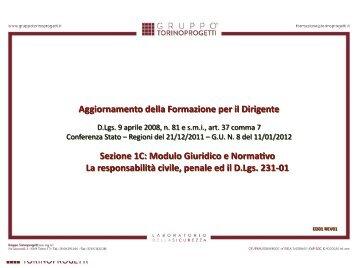 1C_La responsabilità civile, penale ed il D.Lgs. 231-01.ppt