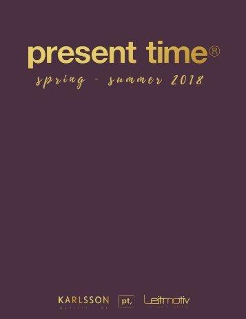 2. Present Time Katalog SS2018