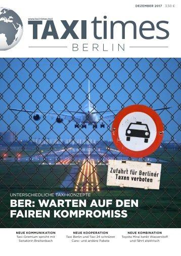Taxi Times Berlin - Dezember 2017