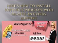 Here%u2019s how to install antivirus program with McAfee