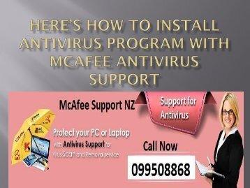 Here%u2019s how to install antivirus program with McAfee