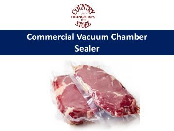 Top Class Of Vacuum Chamber Sealer In USA
