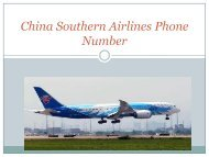 china southern phone number
