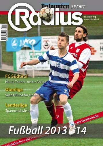Radius Fussball 2013