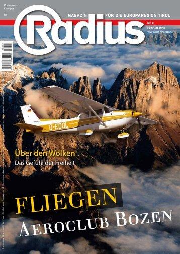 Radius AeroClub Bozen 2013