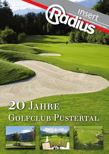 Radius Golf Insert 2013