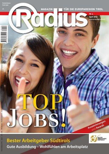 Radius Top Jobs 2013