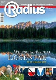 Radius Wirtschaftsschau Eggental 2013