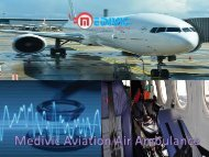 Get Medivic Aviation Ambulance Services in Ahmedabad at the more Reliable Cost