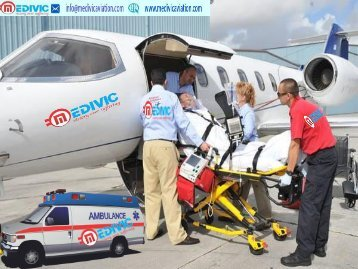 ICU Care Air Ambulance Services from Mumbai to Delhi-Medivic Aviation