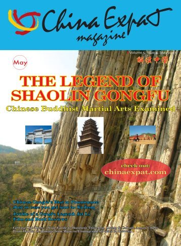 THE LEGEND OF SHAOLIN GONGFU - China Expat