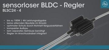 ebeTEC sensorloser BLDC Regler