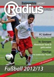 Fußball 2012/13