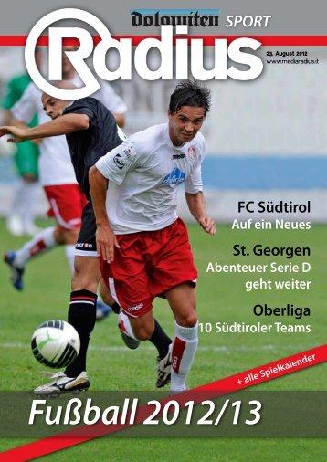 Radius Fussball 2012