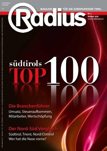 Radius Top 100 2012
