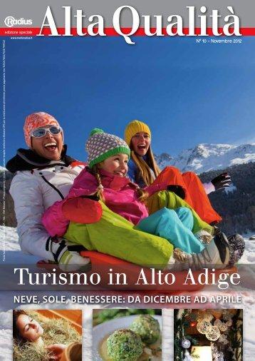Radius Alta Qualitá Turismo Inverno 2012