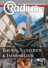 Radius Bauen und Sanieren 2012