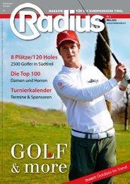 Radius Golf 2012