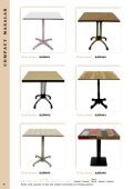 Anadağıtım Dekorasyon Masa ve Sandalye Ürün Kataloğu / Table and Chair Catalog - Page 6