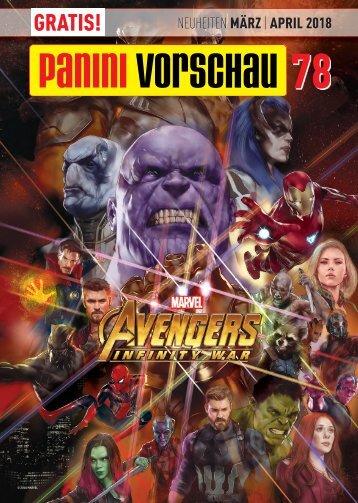 Panini Vorschau 78 - Neuheiten März/April 2018