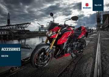 SUZUKI GSX-S750  ACCESSORIES 2018