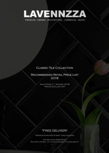 Classic Collection RRP 2018