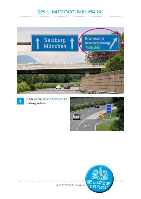 Camping Seeblick Toni - Routebschrivjing