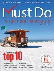 Must Do Sarasota Visitor Guide Winter/Spring 2018
