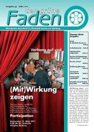 Der grüne Faden - St. Elisabeth-Verein eV Marburg