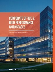 Corporate Office & High Performance Workspaces