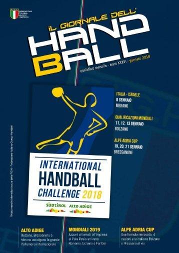 Il Giornale dell'Handball - Gennaio 2018
