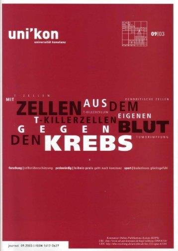 prof. heinz werner radtke - KOPS - Universität Konstanz