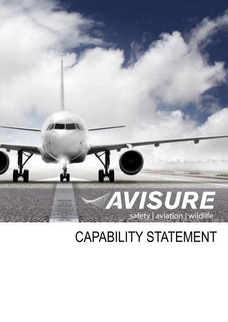 Avisure Capability Statement