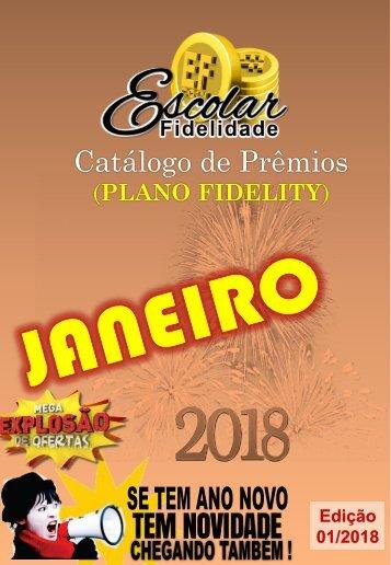 Catálogo Escolar Fidelidade (Plano Fidelity) - Janeiro 2018