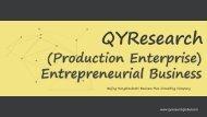 (Production Enterprise) Entrepreneurial Business