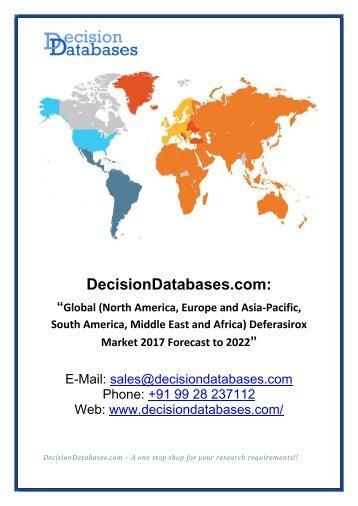 Global Deferasirox Market Research Report 2017-2022