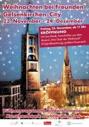 Weihnachten bei Freunden Gelsenkirchen-City - Weihnachtsmarkt.info