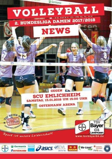 Spieltagsnews Nr. 8 gegen SCU Emlichheim