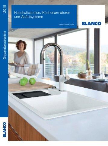 BLANCO Gesamtprogramm 2018