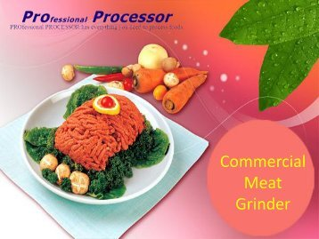 Buy Best Collection Of Commercial Meat Grinder Online In USA
