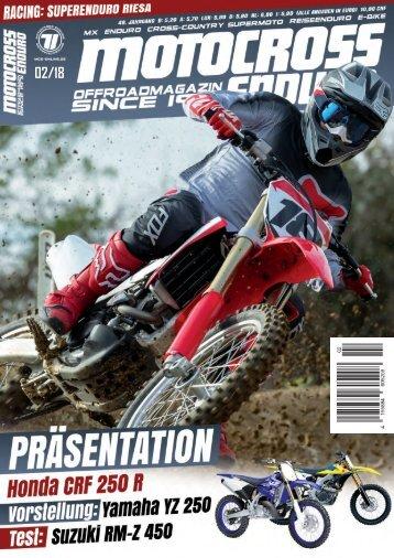 Motocross Enduro Ausgabe 02/2018