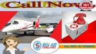 Avail the Most Trusted Sky Air Ambulance Service in Mumbai to Delhi