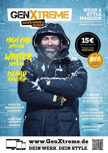 GenXtreme - Werk & Style Magazin 2018 Nr. 1 - Januar 2018
