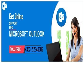 Outlook support number Ireland +353-212340006