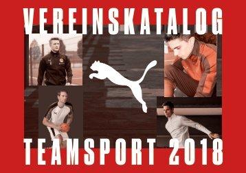 PUMA Teamsport Vereinskatalog 2018