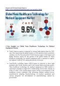 Nano Healthcare Technology for Medical Equipment Market Expected to Touch US$ 9.2 Bn by 2022 - Page 2