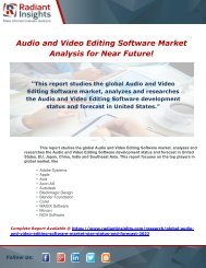 Global Audio and Video Editing Software Market Size, Status and Forecast 2022