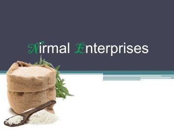 Nirmal Enterprises pdf