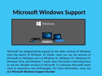 Windows Customer Service 1-888-909-0535 Setup,Install,Activate
