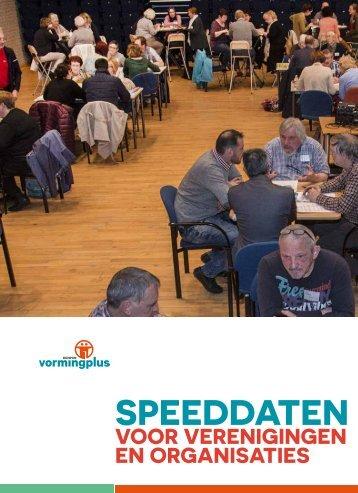 Speeddaten voor vrijwilligers